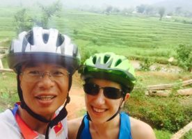 Guide Minh Ha and Tania Bolam